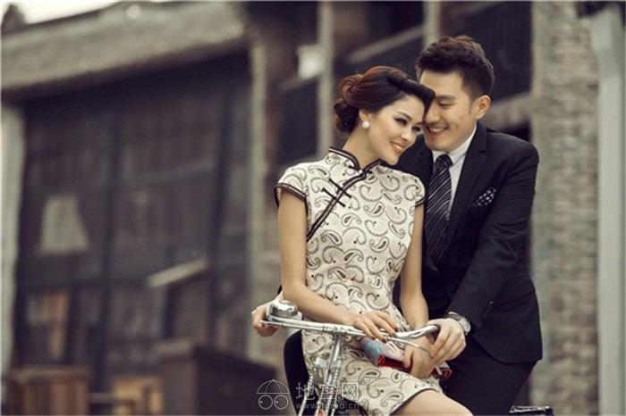 我送你离开千里之外 老上海巷弄怀旧婚纱照|婚